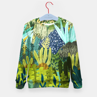 Thumbnail image of Wild Jungle II Kid's sweater, Live Heroes