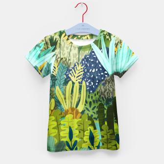Thumbnail image of Wild Jungle II Kid's t-shirt, Live Heroes