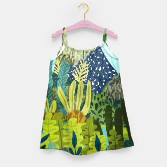 Wild Jungle II Girl's dress thumbnail image