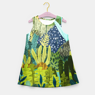 Thumbnail image of Wild Jungle II Girl's summer dress, Live Heroes