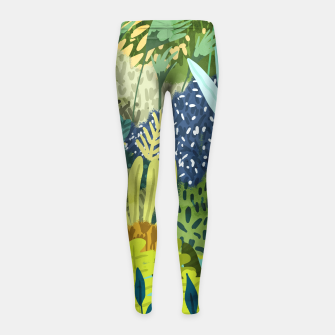 Thumbnail image of Wild Jungle II Girl's leggings, Live Heroes