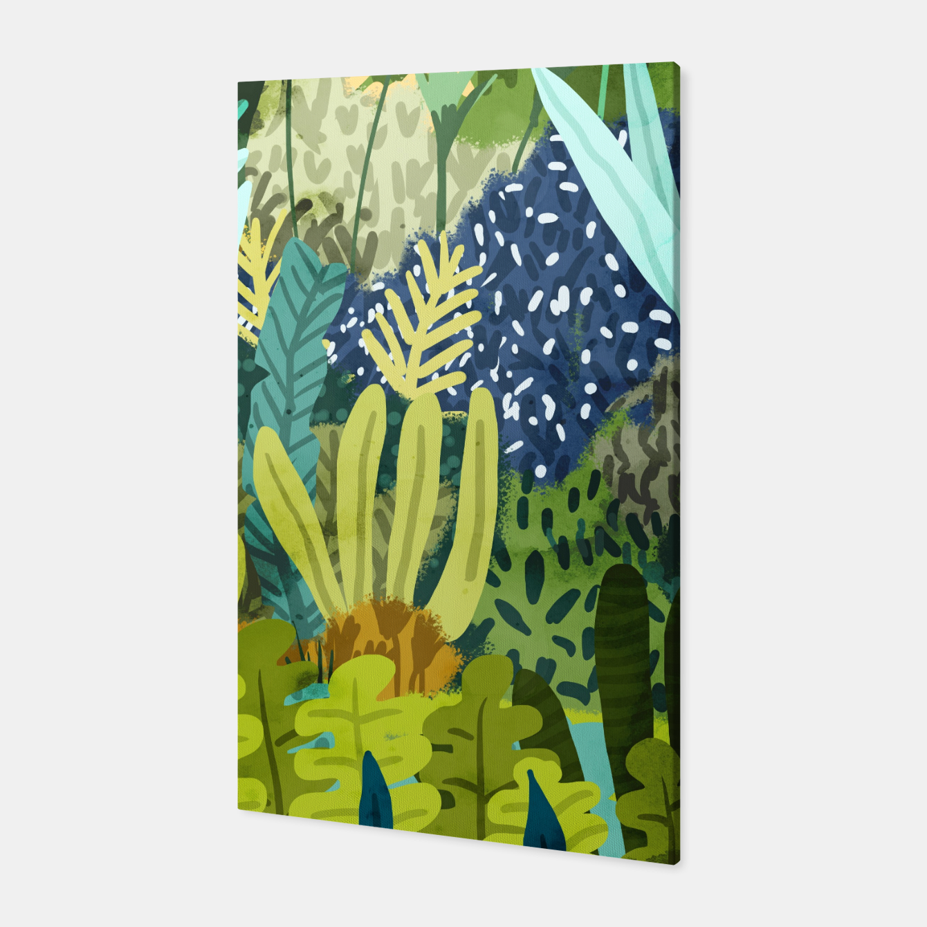Image of Wild Jungle II Canvas - Live Heroes