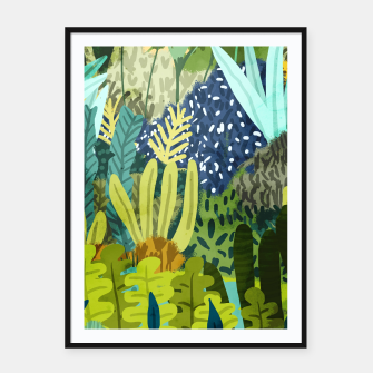 Thumbnail image of Wild Jungle II Framed poster, Live Heroes