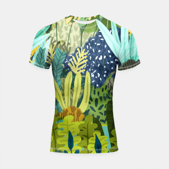 Thumbnail image of Wild Jungle II Shortsleeve rashguard, Live Heroes