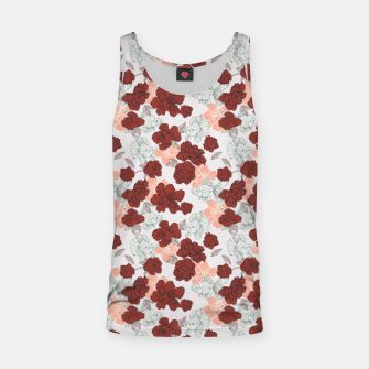 Thumbnail image of Fish and red flowers Camiseta de tirantes, Live Heroes