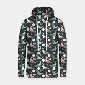 Thumbnail image of Whales in the dark Sudadera con capucha, Live Heroes
