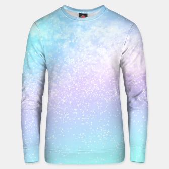 Thumbnail image of Cosmic pastel rainbow sky Unisex sweater, Live Heroes