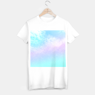 Thumbnail image of Cosmic pastel rainbow sky T-shirt regular, Live Heroes