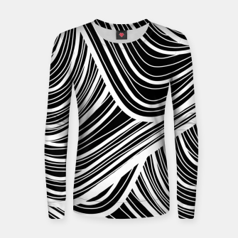 Thumbnail image of Curtain waves  Women sweater, Live Heroes