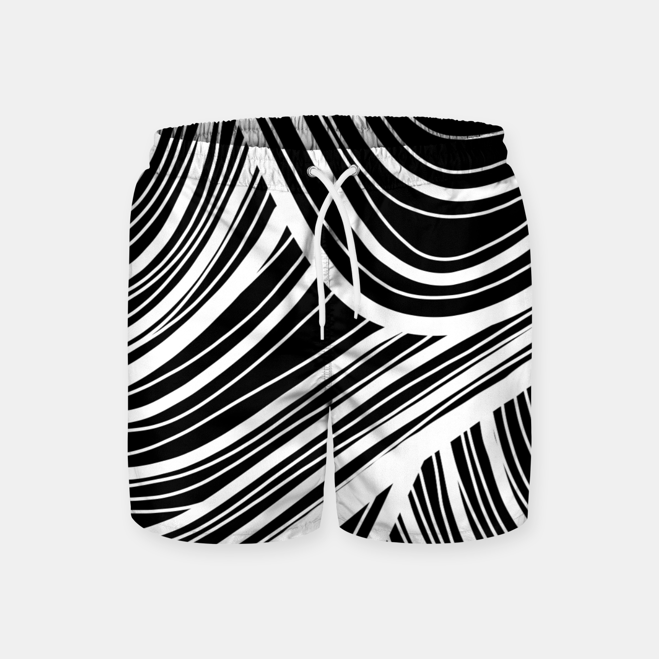 Image of Curtain waves  Swim Shorts - Live Heroes