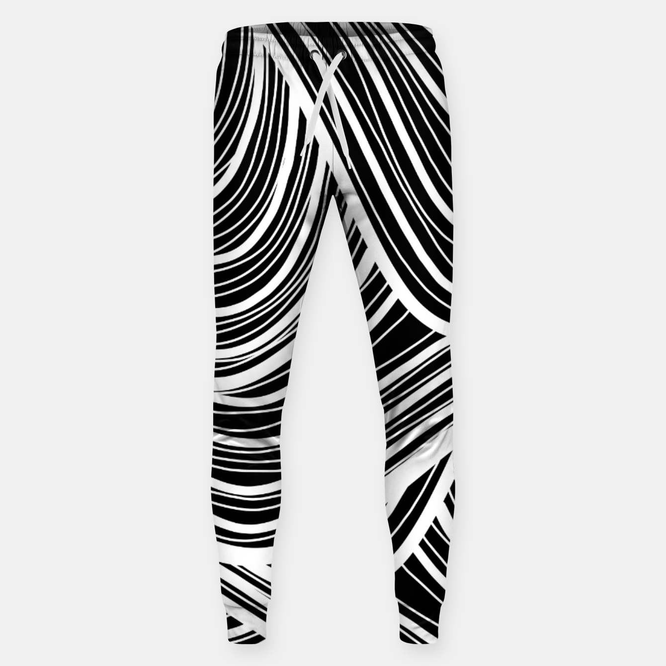 Image of Curtain waves  Sweatpants - Live Heroes