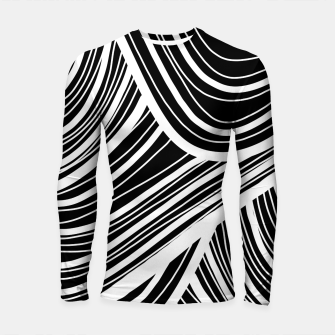 Thumbnail image of Curtain waves  Longsleeve rashguard , Live Heroes