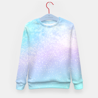 Thumbnail image of Cosmic pastel rainbow sky Kid's sweater, Live Heroes