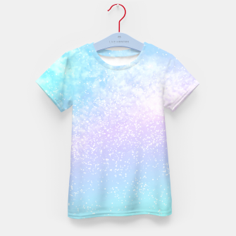 Thumbnail image of Cosmic pastel rainbow sky Kid's t-shirt, Live Heroes