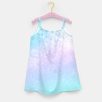 Thumbnail image of Cosmic pastel rainbow sky Girl's dress, Live Heroes