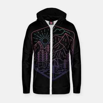 Miniatur Great Journey Zip up hoodie, Live Heroes