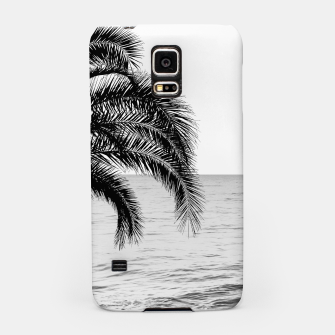 Thumbnail image of Palm & Ocean Dream #4 #tropical #bw #wall #decor #art  Handyhülle für Samsung, Live Heroes