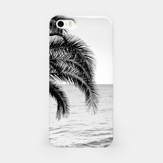 Imagen en miniatura de Palm & Ocean Dream #4 #tropical #bw #wall #decor #art  iPhone-Hülle, Live Heroes