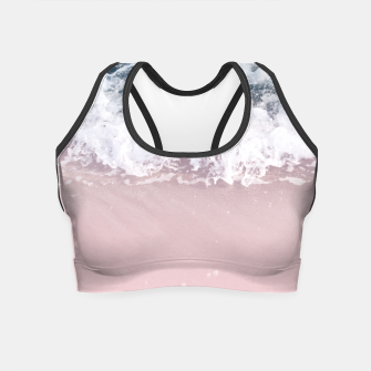 Miniaturka Ocean Beauty Dream - Crashing Waves #2 #wall #decor #art  Crop Top, Live Heroes