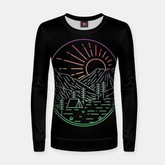 Thumbnail image of Great Sunrise Women sweater, Live Heroes