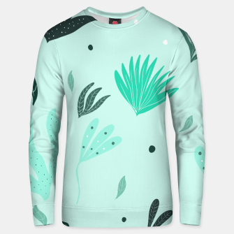 Underwater Leaves Jungle #1 #kids #decor #art  Unisex sweatshirt Bild der Miniatur