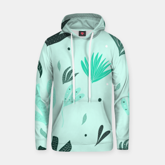 Underwater Leaves Jungle #1 #kids #decor #art  Kapuzenpullover Bild der Miniatur