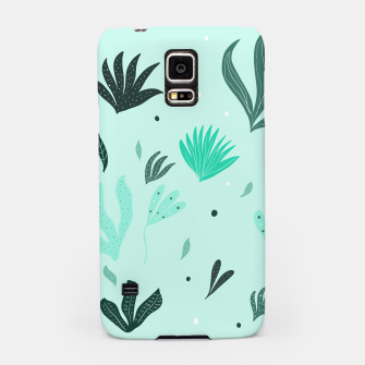 Underwater Leaves Jungle #1 #kids #decor #art  Handyhülle für Samsung Bild der Miniatur