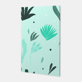 Underwater Leaves Jungle #1 #kids #decor #art  Canvas Bild der Miniatur