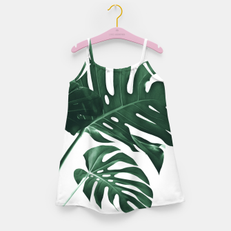 Miniatur Tropical Monstera Finesse #1 #minimal #decor #art Mädchenkleid, Live Heroes