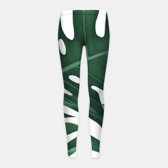 Miniatur Tropical Monstera Finesse #1 #minimal #decor #art Kinder-Leggins, Live Heroes
