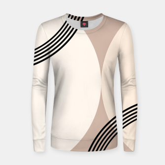 Minimal Abstract Circle Glam #1 #minimal #decor #art  Frauen sweatshirt thumbnail image