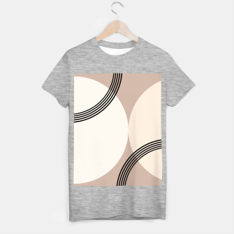 Minimal Abstract Circle Glam #1 #minimal #decor #art  T-Shirt regulär thumbnail image