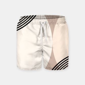 Minimal Abstract Circle Glam #1 #minimal #decor #art  Badeshorts thumbnail image