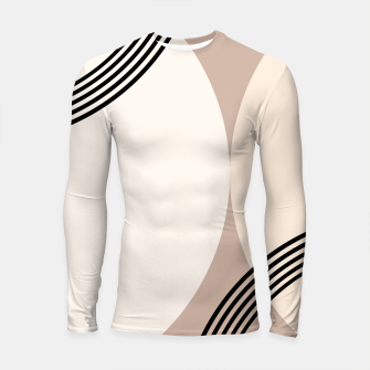 Minimal Abstract Circle Glam #1 #minimal #decor #art  Longsleeve rashguard thumbnail image