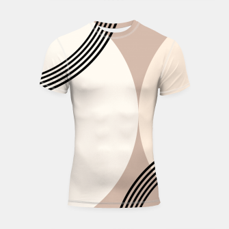 Minimal Abstract Circle Glam #1 #minimal #decor #art  Shortsleeve rashguard thumbnail image