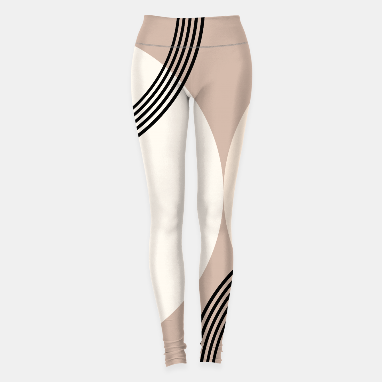 Image of Minimal Abstract Circle Glam #1 #minimal #decor #art  Leggings - Live Heroes