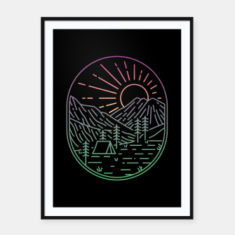 Thumbnail image of Great Sunrise Framed poster, Live Heroes