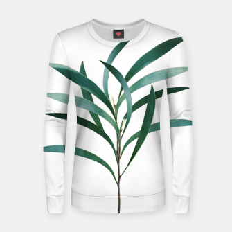 Miniatur Eucalyptus Branch Delight #1 #foliage #decor #art Frauen sweatshirt, Live Heroes