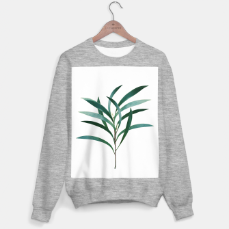 Miniatur Eucalyptus Branch Delight #1 #foliage #decor #art Sweatshirt regulär, Live Heroes