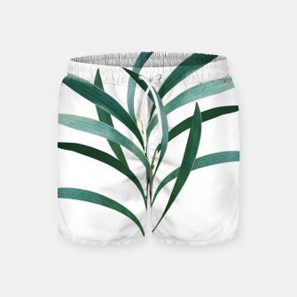 Thumbnail image of Eucalyptus Branch Delight #1 #foliage #decor #art Badeshorts, Live Heroes