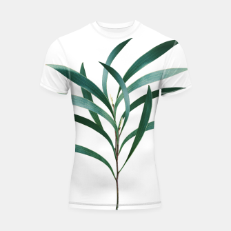 Thumbnail image of Eucalyptus Branch Delight #1 #foliage #decor #art Shortsleeve rashguard, Live Heroes