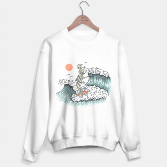 Thumbnail image of Mummy Surfing Sweater regular, Live Heroes