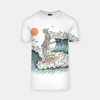 Thumbnail image of Mummy Surfing T-shirt, Live Heroes