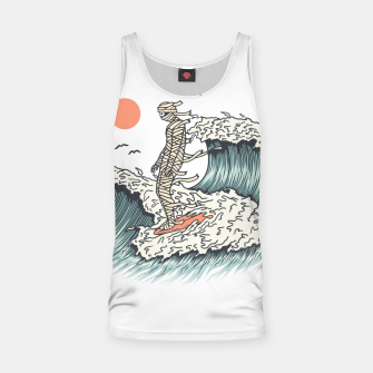 Thumbnail image of Mummy Surfing Tank Top, Live Heroes