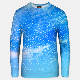 Miniatur Cosmic blue sky ( digital watercolor ) Unisex sweater, Live Heroes