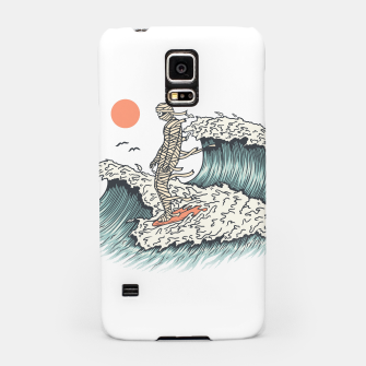 Thumbnail image of Mummy Surfing Samsung Case, Live Heroes