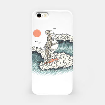 Thumbnail image of Mummy Surfing iPhone Case, Live Heroes