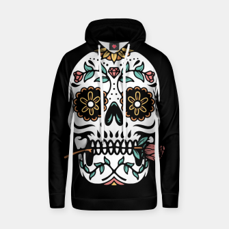 Thumbnail image of Mexican Skull Hoodie, Live Heroes