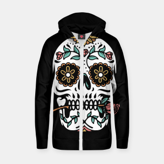 Mexican Skull Zip up hoodie thumbnail image