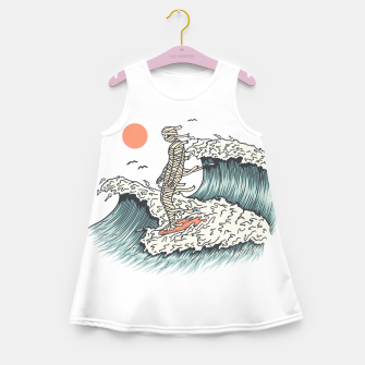 Thumbnail image of Mummy Surfing Girl's summer dress, Live Heroes